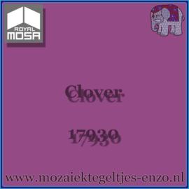 Binnen wandtegel Royal Mosa - Glanzend - 7,5 x 7,5 cm - Op maat gesneden - Clover 17930