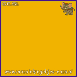 Buiten tegel Cesi - Mat Glanzend - 20 x 20 cm - per 1 stuk  - Op bestelling - Yellow Gold