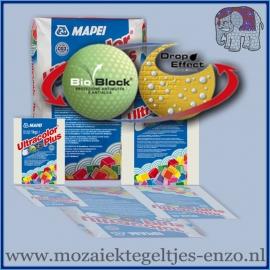 Voegmiddel - Mapei Ultracolor Plus - Binnen en buiten voegsel voor de mozaiek hobby - per 250 gram - Crocus Blue No. 170