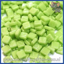 Glasmozaiek Pixel steentjes - Ottoman Matte - 0,8 x 0,8 cm - Enkele Kleuren - per 50 gram - Mint Green