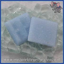 Glasmozaiek tegeltjes - Basic Line - 2 x 2 cm - Enkele Kleuren - per 20 steentjes - Periwinkle A17