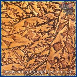 Plaatglas - Van Gogh Glass Normaal - 5 x 10 cm - Enkele Kleuren - per 1 stuk - Copper Sparkle