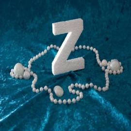 Piepschuim/Styropor - Letter Z