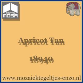 Binnen wandtegel Royal Mosa - Glanzend - 7,5 x 7,5 cm - Op maat gesneden - Apricot Tan 18940
