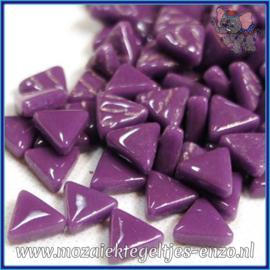 Glasmozaiek steentjes - Art Angles Normaal - 10 mm - Enkele Kleuren - per 50 gram - Deep Purple