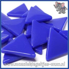 Glasmozaiek steentjes - Art Angles Normaal - 29 mm - Enkele Kleuren - per 1 stuk - Brilliant Blue
