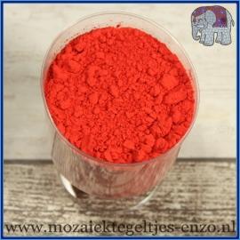 Pigment - per 20 gram - Signal Red - Kleurstof voor de mozaiek hobby