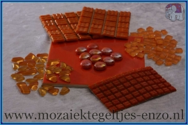 Mozaiek Kleur Pakket  Basic Line - Oranje