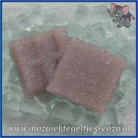 Glasmozaiek tegeltjes - Basic Line - 2 x 2 cm - Enkele Kleuren - per 20 steentjes - Lavender A42