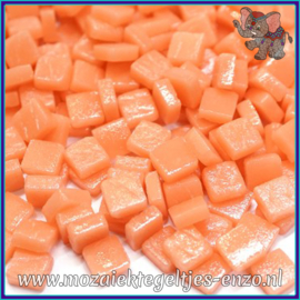 Glasmozaiek Pixel steentjes - Ottoman Matte - 0,8 x 0,8 cm - Enkele Kleuren - per 50 gram - Apricot