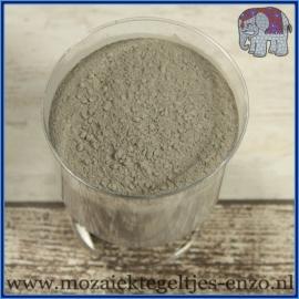 Voegmiddel - Mapei Ultracolor Plus - Binnen en buiten voegsel voor de mozaiek hobby - per 500 gram - Cement Grijs/Cement Grey No. 113