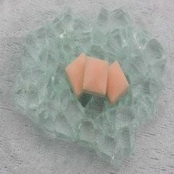 "- Keramiek  1 x 1 cm -  Fresh-Peach-""S"""