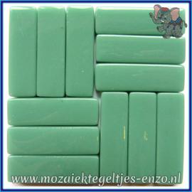 Glasmozaiek steentjes - Stix Rechthoekjes Staafjes XL Normaal - 12 x 38 mm - Enkele Kleuren - per 50 gram - Pale Teal