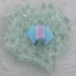 "- Nebula 1 x 1 cm - Mini Blue-Opal-""S"""