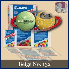Voegmiddel - Mapei Ultracolor Plus - Binnen en buiten voegsel voor de mozaiek hobby - per 250 gram - Beige No. 132