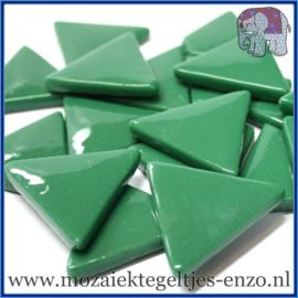 Glasmozaiek steentjes - Art Angles Gewoon - 29 mm - Enkele Kleuren - per 1 kilo - Spruce Green