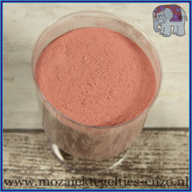 Voegmiddel - Mapei Ultracolor Plus - Binnen en buiten voegsel voor de mozaiek hobby - per 250 gram - Roze/Mauve No. 161