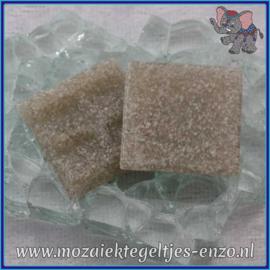 Glasmozaiek tegeltjes - Basic Line - 2 x 2 cm - Enkele Kleuren - per 20 steentjes - Just Grey A07