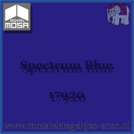 Binnen wandtegel Royal Mosa - Glanzend - 7,5 x 7,5 cm - Op maat gesneden - Spectrum Blue 17920