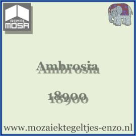 Binnen wandtegel Royal Mosa - Glanzend - 15 x 15 cm - per 44 stuks (1m2)  - Op bestelling - Ambrosia 18900