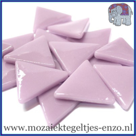 Glasmozaiek steentjes - Art Angles Gewoon - 29 mm - Enkele Kleuren - per 1 kilo - Lilac