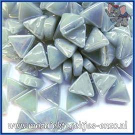 Glasmozaiek steentjes - Art Angles Parelmoer - 10 mm - Enkele Kleuren - per 50 gram - Pearl Grey