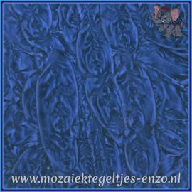 Plaatglas - Van Gogh Glass Normaal - 5 x 10 cm - Enkele Kleuren - per 1 stuk - Blue