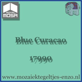 Binnen wandtegel Royal Mosa - Glanzend - 15 x 15 cm - per 1 stuk - Blue Curacao 17990