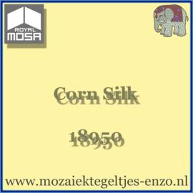 Binnen wandtegel Royal Mosa - Glanzend - 15 x 15 cm - per 44 stuks (1m2)  - Op bestelling - Corn Silk 18950