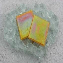 """- Nebula 2 x 2 cm - Orange-Fire-""""S"""""""