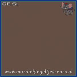 Buiten tegel Cesi - Mat Glanzend - 20 x 20 cm - per 1 stuk  - Op bestelling - Moka