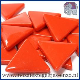 Glasmozaiek steentjes - Art Angles Gewoon - 29 mm - Enkele Kleuren - per 1 kilo - Bright Red