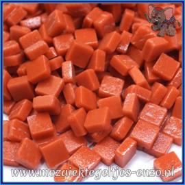 Glasmozaiek Pixel steentjes - Ottoman Matte - 0,8 x 0,8 cm - Enkele Kleuren - per 50 gram - Chili Pepper