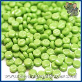 Glasmozaiek Pixel steentjes - Darling Dotz Normaal - 0,8 cm - Enkele Kleuren - per 50 gram - New Green