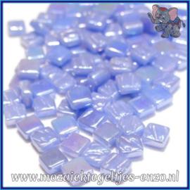 Glasmozaiek Pixel steentjes - Ottoman Parelmoer - 0,8 x 0,8 cm - Enkele Kleuren - per 50 gram - Pale Blue