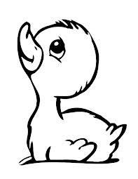 Baby eend
