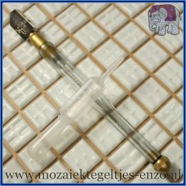 Olie Glas Snijder - Mozaiek gereedschap voor plaatglas en spiegels