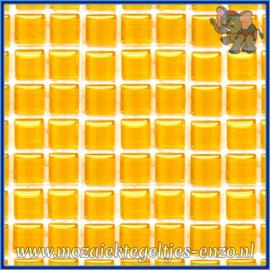 Glasmozaiek tegeltjes - Murrini Crystal - 1 x 1 cm - Enkele Kleuren - per 60 steentjes - Mini Corn Syrup