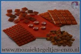 Mozaiek Kleur Pakket  Gold Line - Oranje