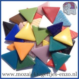 Glasmozaiek steentjes - Art Angles Gewoon - 29 mm - Gemixte Kleuren - per 1 kilo - Mixed Colours