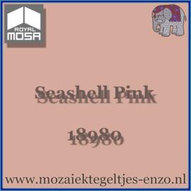Binnen wandtegel Royal Mosa - Glanzend - 15 x 15 cm - per 44 stuks (1m2)  - Op bestelling - Seashell Pink 18980