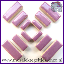 Keramische mozaiek steentjes - Keramiek Rectangles Rechthoekjes Normaal - 4, 6 en 10 mm - Enkele Kleuren - per 50 gram - Lilac