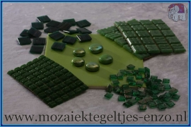 Mozaiek Kleur Pakket  Gold Line - Groen