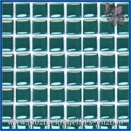 Glasmozaiek tegeltjes - Murrini Crystal - 1 x 1 cm - Enkele Kleuren - per 60 steentjes - Mini Seaweed