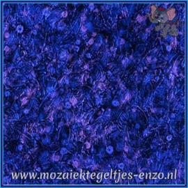 Plaatglas - Van Gogh Glass Normaal - 5 x 10 cm - Gemixte Kleuren - per 1 stuk - Blue Purple