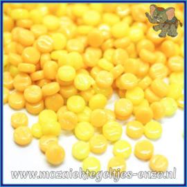 Glasmozaiek Pixel steentjes - Darling Dotz Normaal - 0,8 cm - Gemixte Kleuren - per 50 gram - Lemon Bars