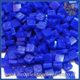 Glasmozaiek Pixel steentjes - Ottoman Matte - 0,8 x 0,8 cm - Enkele Kleuren - per 50 gram - Brilliant Blue