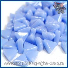 Glasmozaiek steentjes - Art Angles Normaal - 10 mm - Enkele Kleuren - per 50 gram - Pale Blue