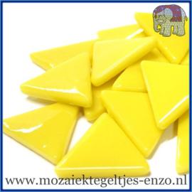 Glasmozaiek steentjes - Art Angles Gewoon - 29 mm - Enkele Kleuren - per 1 kilo - Yellow Opal