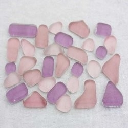 "- Glass Puzzles 50 g - Sweet-Pea-Pink-""S"""